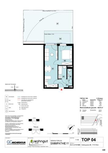 1_Verkaufsplan der Wohnung TOP 04_NBB