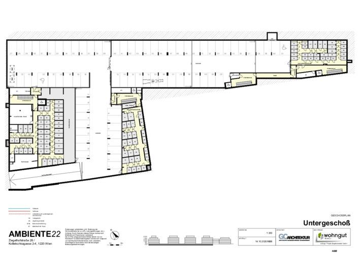 5_Geschoßplan Untergeschoß (Stellplätze und Einlagerungsräume)_NBB