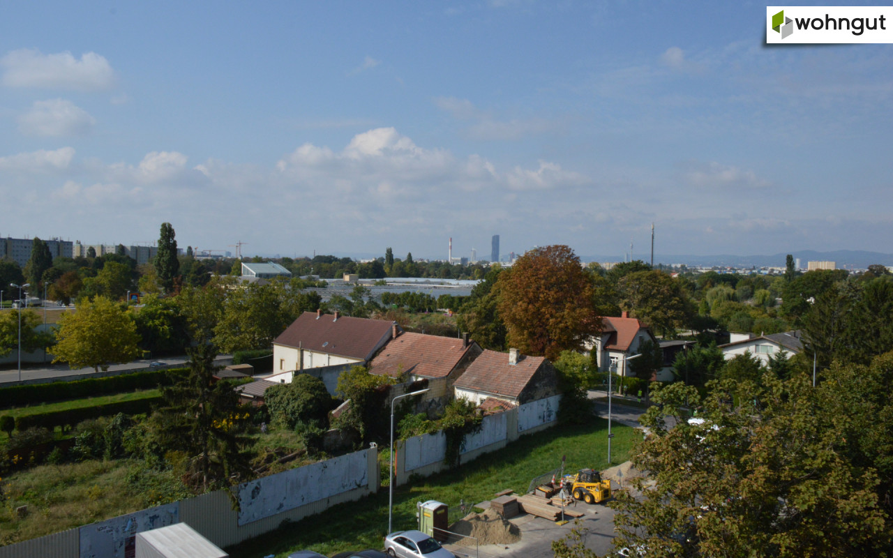 Blick Grundstück