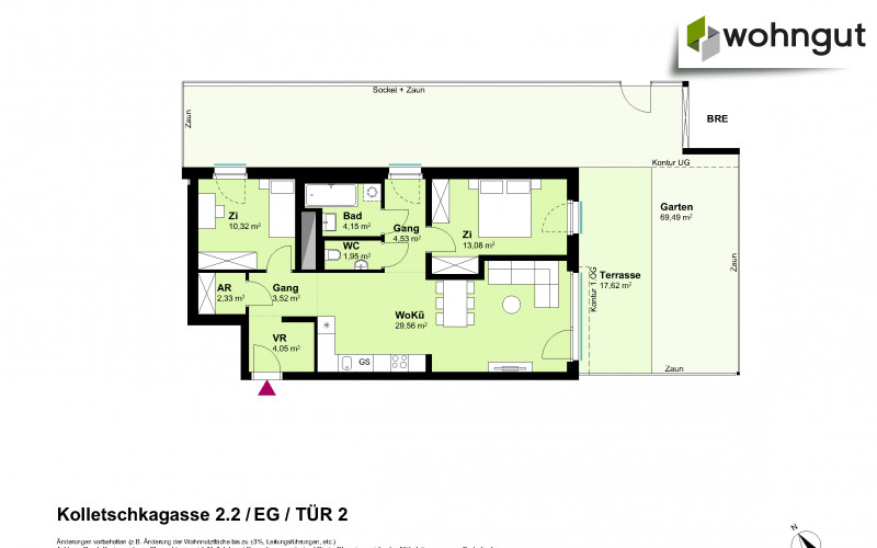 Kolletschkagasse 2 / Stiege 2 / Tür 2