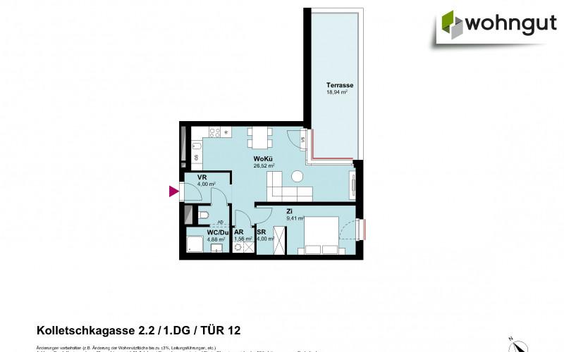 Kolletschkagasse 2 / Stiege 2 / Tür 12