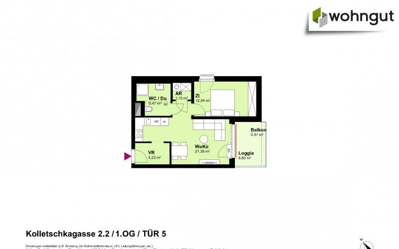 Kolletschkagasse 2 / Stiege 2 / Tür 5