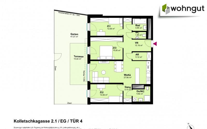 Kolletschkagasse 2 / Stiege 1 / Tür 4