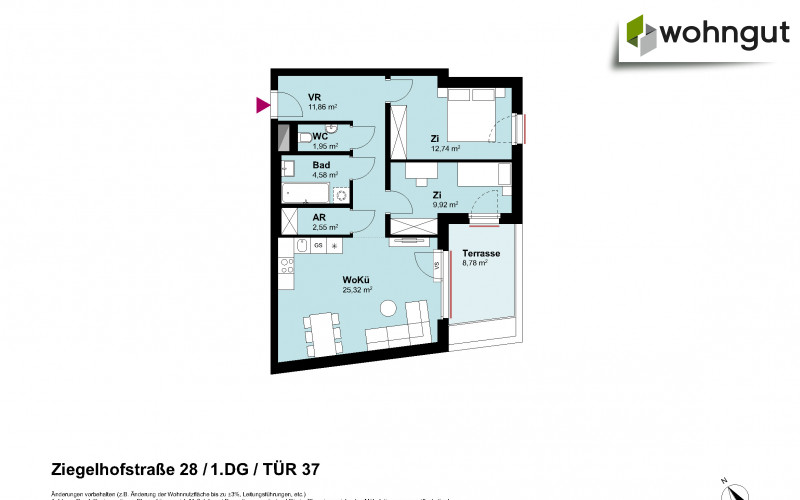 Ziegelhofstrasse 28 / Tür 37