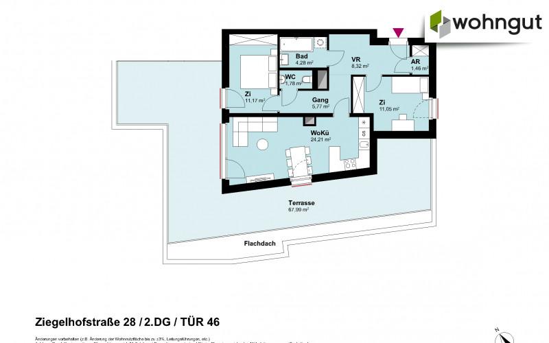 Ziegelhofstrasse 28 / Tür 46