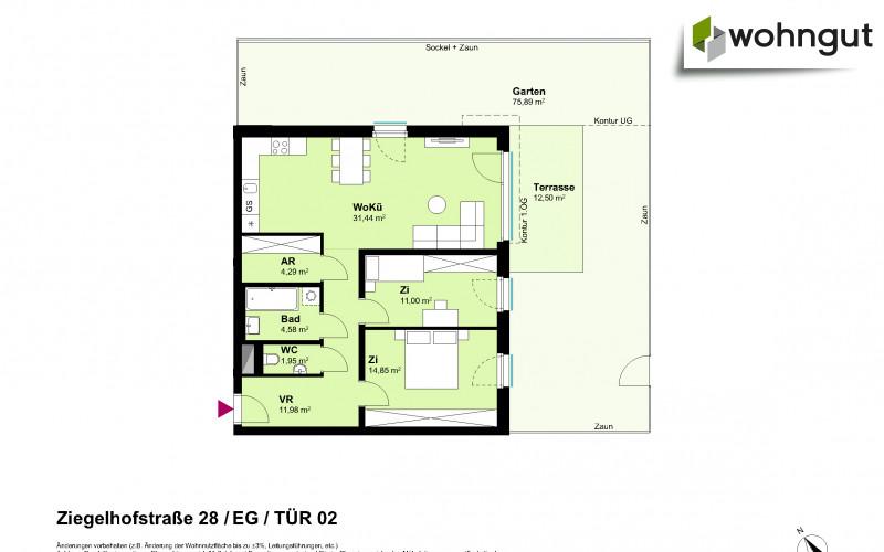 Ziegelhofstrasse 28 / Tür 2